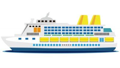 Väggdekor 大型 客船