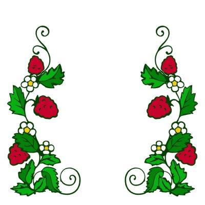 Väggdekor ягода