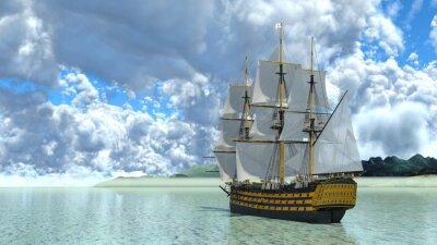 Väggdekor 帆船