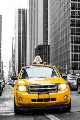 Väggdekor yellow cab New York