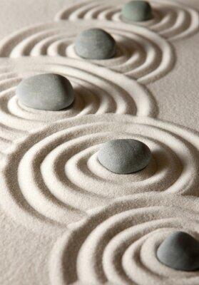 Väggdekor zen stenar