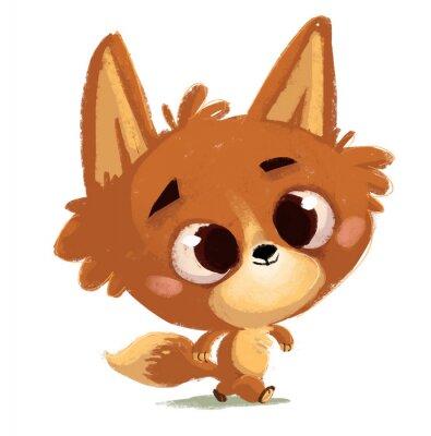 Väggdekor  zorro pequeño